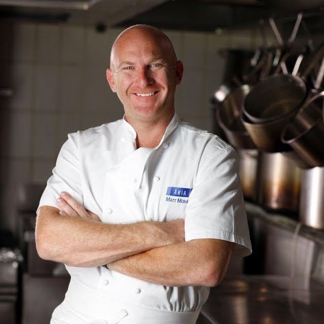 Matt Moran. Chef/Owner of Aria in Sydney. Masterchef Australia judge.