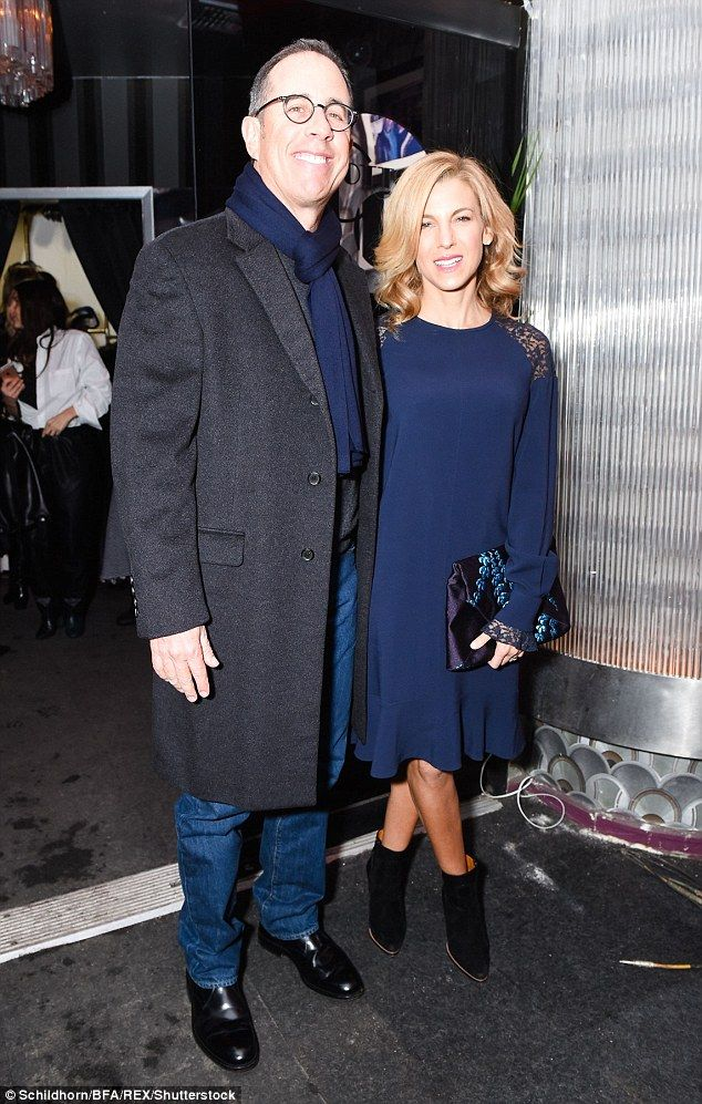 Date night! Jerry Seinfeld and his wife Jessicawere spotted unwinding at Stella McCartney's pre-Fall 2017 Presentation in New York City on Tuesday evening