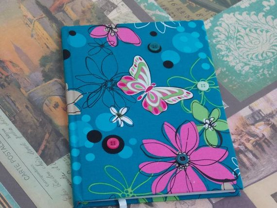 Handmade notebook Unsaid stories. Covered by cotton by FromIrene, €10.00