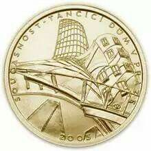 'The Dancing House' Collector's Coin