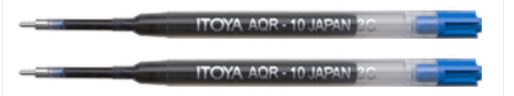 Itoya Refills Blue - 2 Pack Medium Point Ballpoint Pen