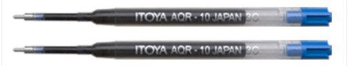 Itoya Refills Blue - 2 Pack Medium Point Ballpoint Pen