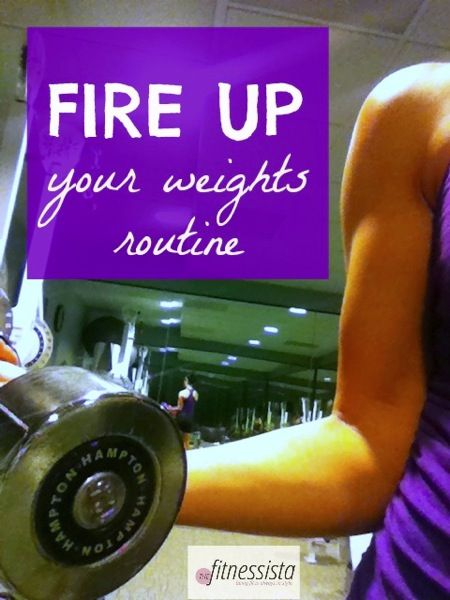 don't let your body kick into cruise control! some ways to fire up your weights routine