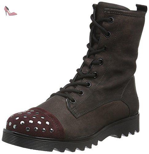 PRIMIGI chaussures 41026 25/27 anthracite taupe fille bottes boucle zip 25 Boots Primigi Anne-E Anthracite dAG8R