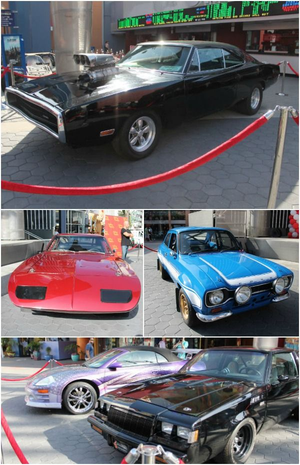 Universal City Walk Turns 20 Years Old with the Fast and Furious Cars!