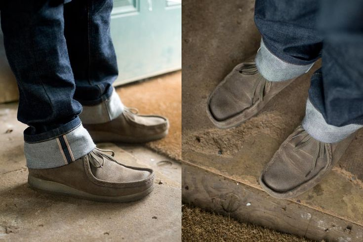 Wallabee boots by Clarks. Anything made by Clarks is most ...