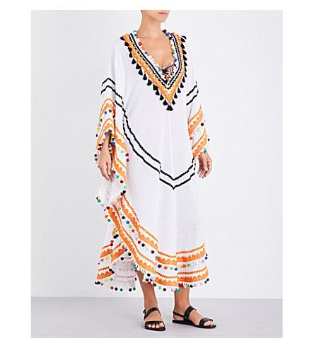 DODO BAR OR Dan woven cotton kaftan