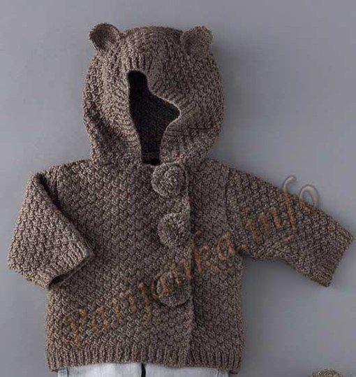 детская курточка с капюшоном спицами. Обсуждение на LiveInternet - Российский Сервис Онлайн-Дневников