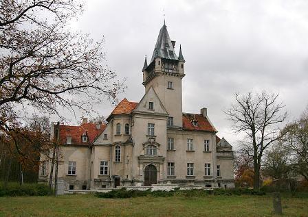 Palace Osowa Sien, Wschowa, Lubuskie province, Poland.