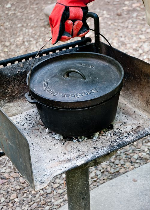 1000 images about dutch oven stand on pinterest dutch for Cast iron dutch oven camping recipes