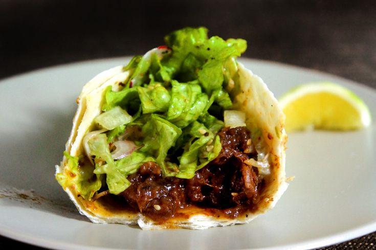 Korean Beef Short Rib Taco