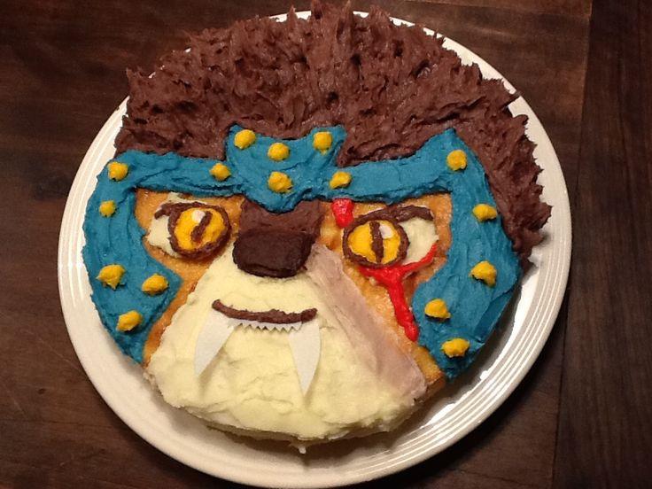 Lego Chima birthday cake (longtooth) | Boy birthday ...
