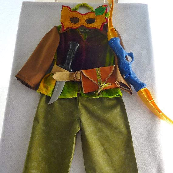 Boy's Elf Gypsy or Bohemian Costume Long Sleeve Top by TwinsFromOz, $95.00