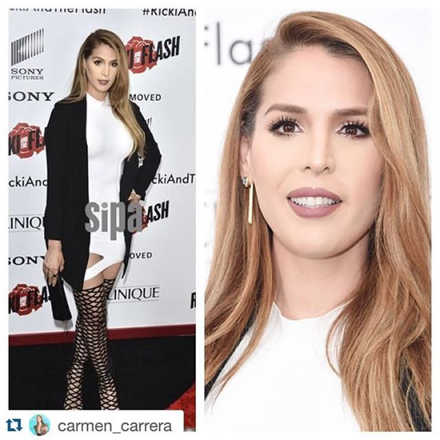 #Repost @carmen_carrera with @repostapp. ・・・ Big night for me as we premiered my participation in my first movie! It was so much fun rockin' out at the 'Ricki and the Flash' premiere at AMC Loews Lincoln Center last night! Thank you TriStar and Sony!! Also thank you Diablo Cody and Jonathan Demme for writing in this character. Thank you Meryl Streep and Mammie Gummer for being so awesome on set emojiemojiemoji fixx boots by Lust for Life available at www.collectionnoir.ca @lustforlifeusa…