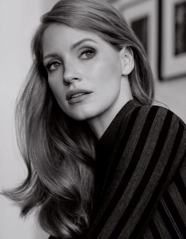 美しい横顔のジェシカ・チャステイン