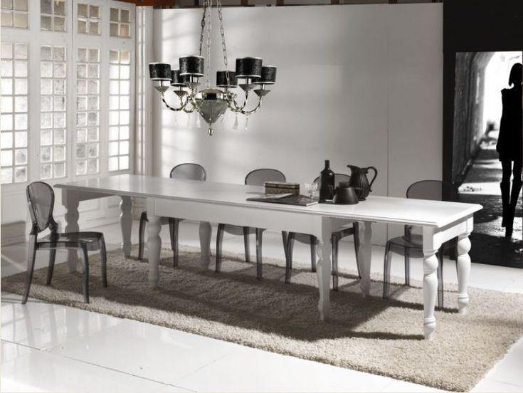 Tavolo barocco ~ 20 best tavoli allungabili in legno images on pinterest shabby