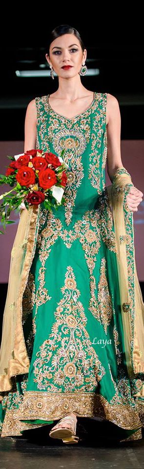 35 best GREEN Fashions images on Pinterest | Indian bridal, Indian ...