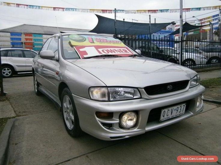 2000 Subaru Impreza MY00 RX (AWD) Silver Manual 5sp M Sedan #subaru #impreza #forsale #australia