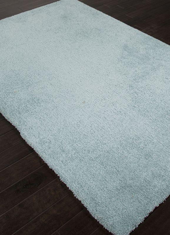 *! Low Priced Jaipur Rugs RUG108123 Solids/ Handloom Solid Pattern Wool/ Art Silk Blue/ Area Rug ( 8x10 ) Buy Now!