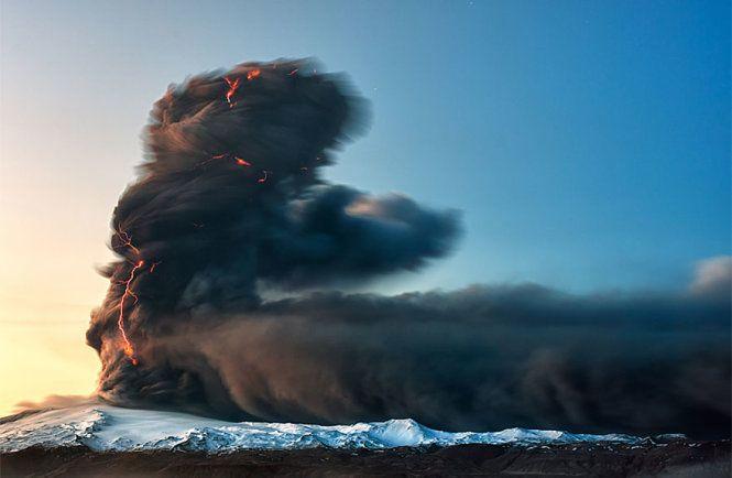 Núi lửa Eyjafjallajökull