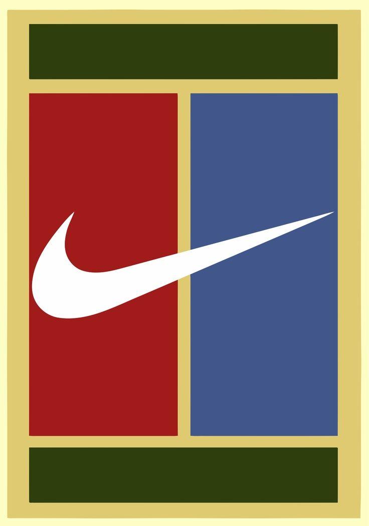 nike court tennis logos pinterest nike. Black Bedroom Furniture Sets. Home Design Ideas