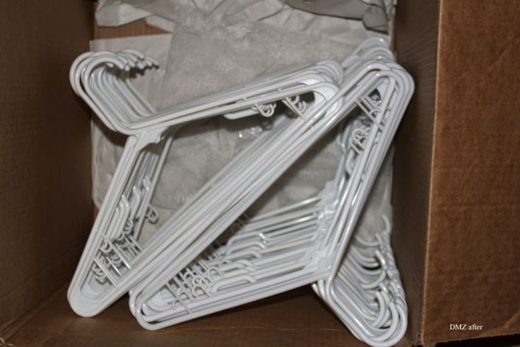 DMZ Professional Organizer: how to pack hangers