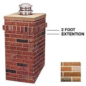 R-Co 302-1317-C Square Kit 2 ft. Extension by R-Co. $160.70. Design is stylish and innovative. Satisfaction Ensured.. Item Width: 23.5. Item Height: 24. Great Gift Idea.. Item Length: 23.5. Square Kit 2' Extension - Add an additional two feet to R-CO's Square Steel Chimney Surround,whether you want to make a statement with a tall chimney or your home has particularly tall chimney. No one will be able to miss the dramatic effect this chimney housing will add to your roof line. ...