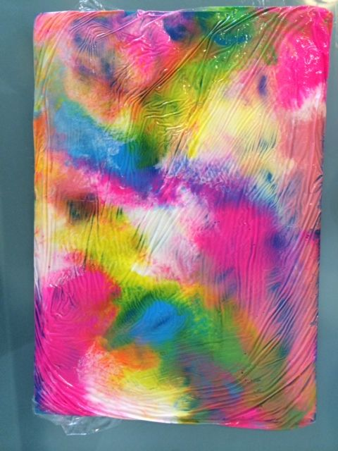 Arty Crafty Kids - Cling Film Art