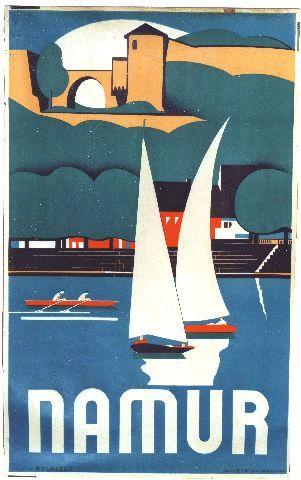 Gerard - Namur - Vintage poster