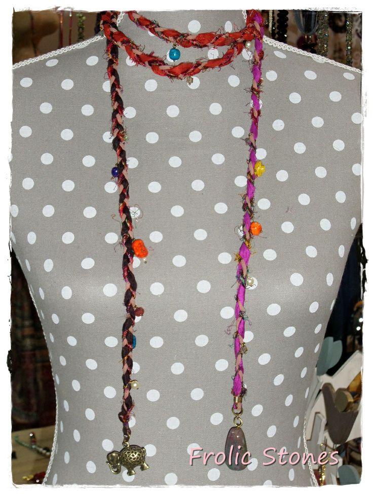 bohemian style handmade necklace