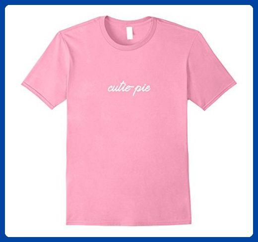 Mens cutie-pie Shirt, Cute Valentine's Day Anniversary Gift Medium Pink - Holiday and seasonal shirts (*Amazon Partner-Link)