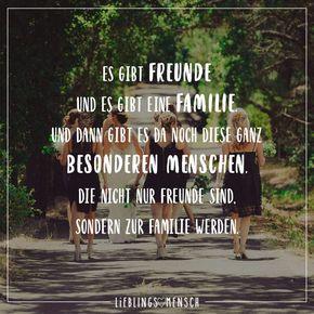 Es gibt Freunde und es gibt eine Familie. Und dann gibt es da noch diese ganz besonderen Menschen, die nicht nur Freunde sind, sondern zur Familie werden