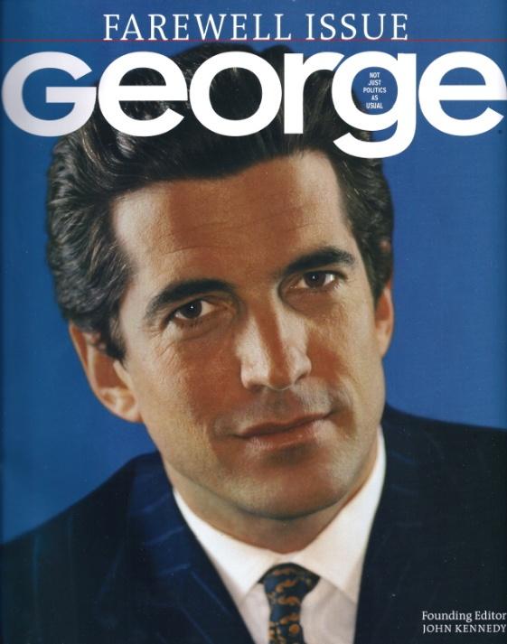 Vintage 2001, Final Edition of George Magazine, Volume VI, No. 1, NYC, www.RevWill.com