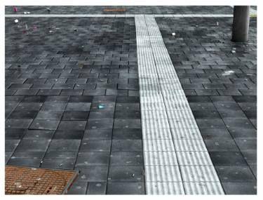 "Saatchi Art Artist Roberto Voorbij; Photography, ""Amsterdam, Central Station (Tactile Paving I) #1/5"" #art"