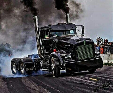 Semitrckn / Kenworth Custom T800 Rollin Coal | TRUCKS ...