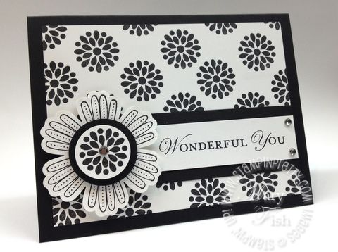 sophisticated black & white blossoms: Cards Ideas, Black And White, Mixed Bunch, Blossoms Punch, Black White, Stamps Sets, White Cards, Paper Crafts, Stampin Up Cards