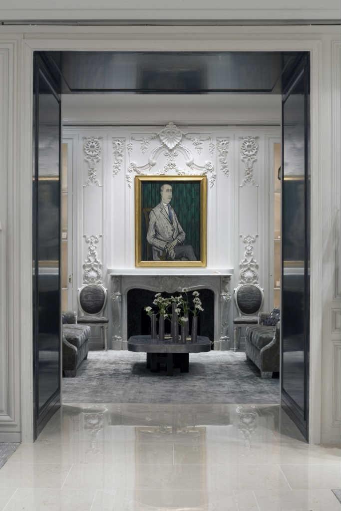 Portrait of Christian Dior, Dior Boutique Paris