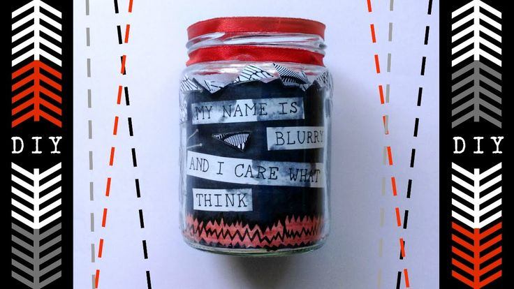 |-/ DIY TWENTY ONE PILOTS JAR |-/