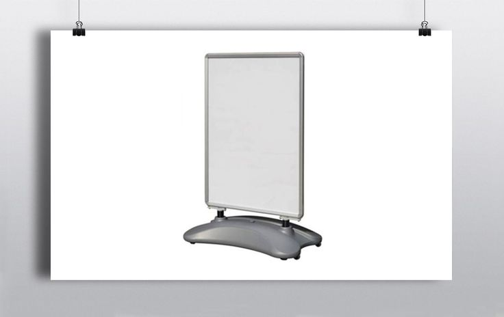 Poster Display Board which can be used for promotional or directional purposes. http://www.prophouse.ie/portfolio/poster-displays/