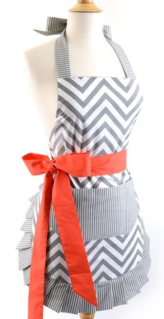 Flirty Aprons: 50% Off Everything and get Free Shipping! This is a sale that you don't want to miss! Great gift ideas for women, men, and kids too!