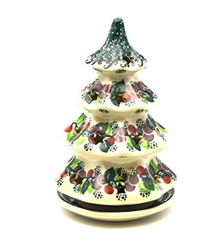 231 best Pottery christmas tree candle holders images on Pinterest ...