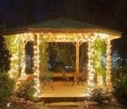 gazebo lighting garden ~ http://makerland.org/the-types-of-gazebo-lights/