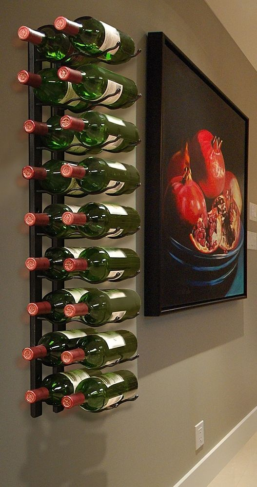 Our Wire Wine Racks offer sturdy, space-saving metal construction and provide a handsome display of your favorite varietals.
