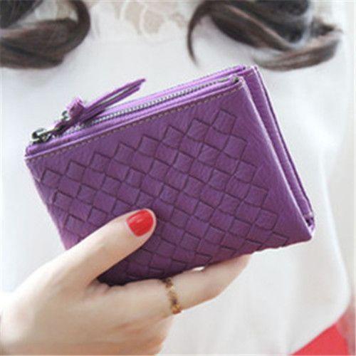 MOSH Bifold Zipper Women Wallets Small Purse Coin Pouch Clutch Wallet Money Coin Bag Fashion Brand Designer Female Wallets Short