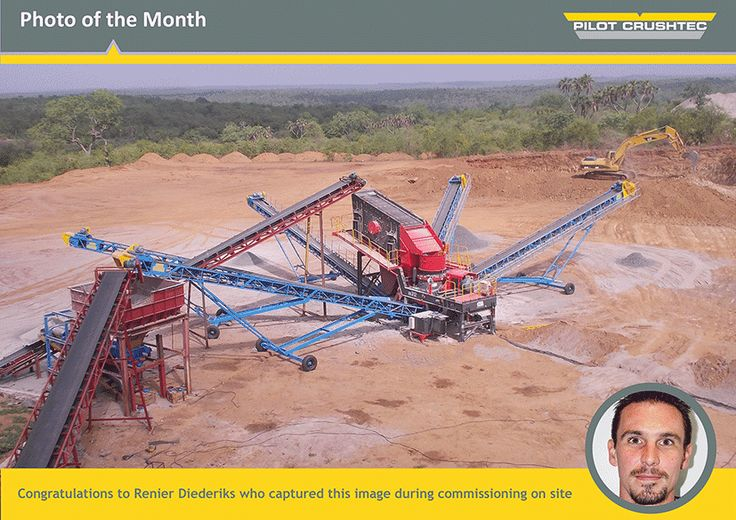 Photo of the month - Pilot Crushtec International