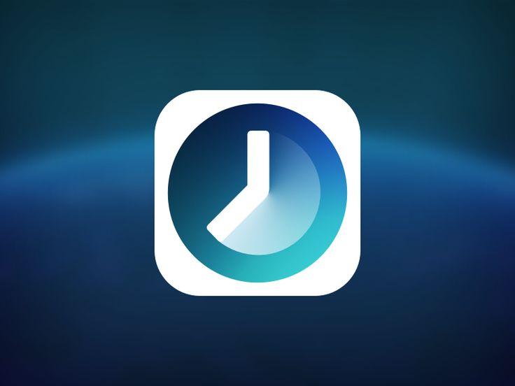 Timey App Icon - by Jamie Heuze | #ui