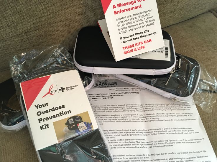 Naloxone Kit can save a life! Must have this kit available to remediate Fentanyl property!