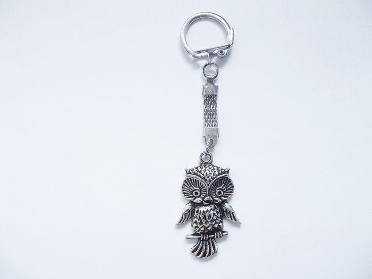 Breloczek do kluczy- SOWA w barbarella na DaWanda.com