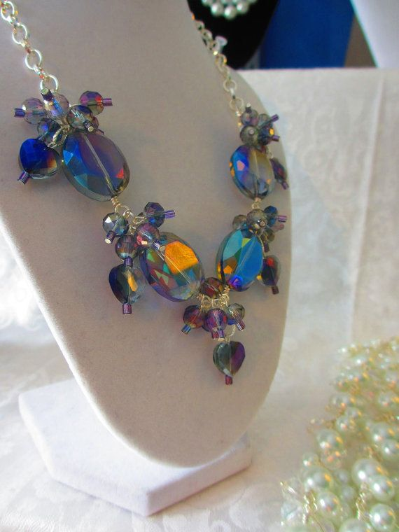 Purple Sweet Heat  Necklace by WolfCreekCreations on Etsy, $38.00