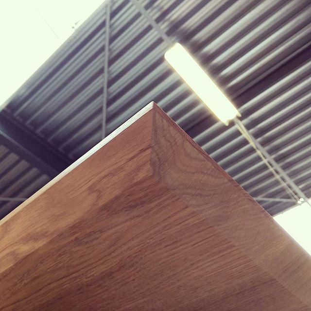 #solidoak #angles #rubiomonocoat #custom #woodwork #tabletop